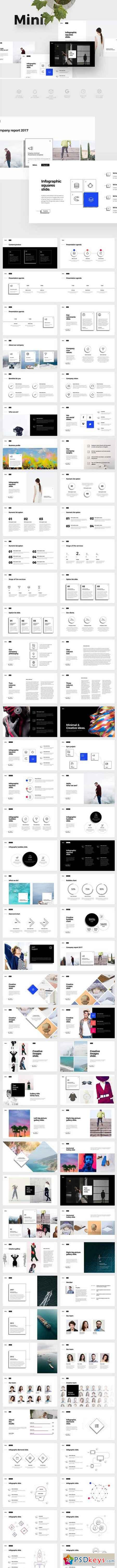 MINI Powerpoint Template 1718247