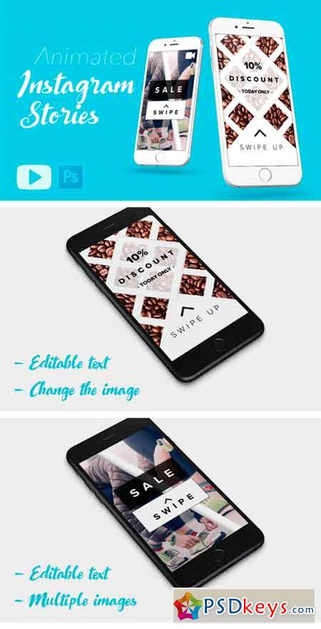 ANIMATED Instagram Stories Template 2115391
