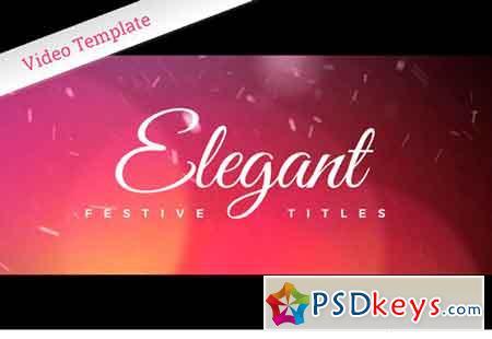 Elegant Festive Titles - AE 2100222