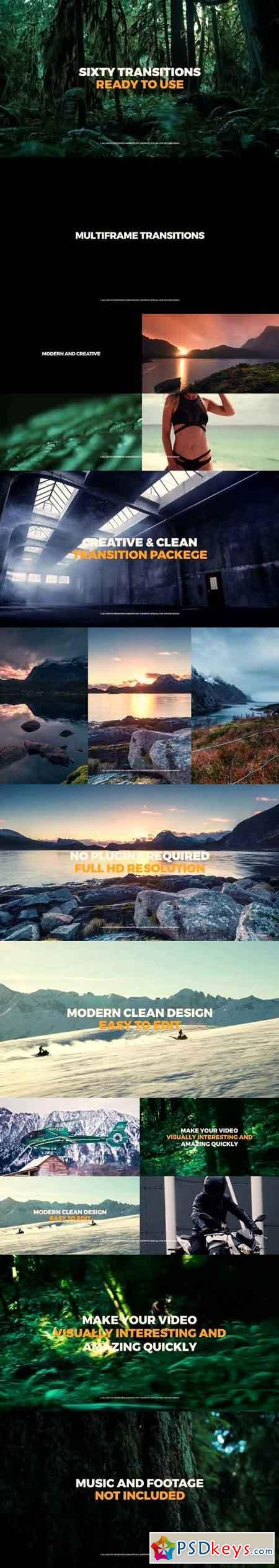 Multiframe Transitions Premiere Pro Templates 57374