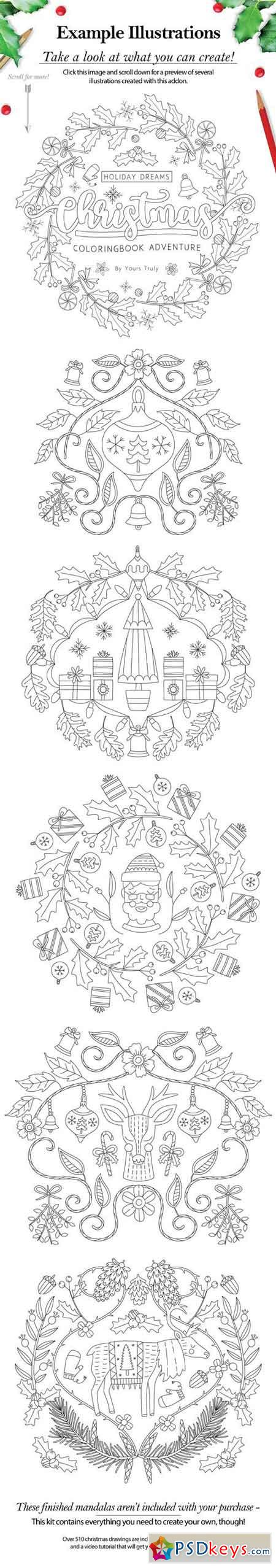 Christmas Holiday Mandala Creator 2091321