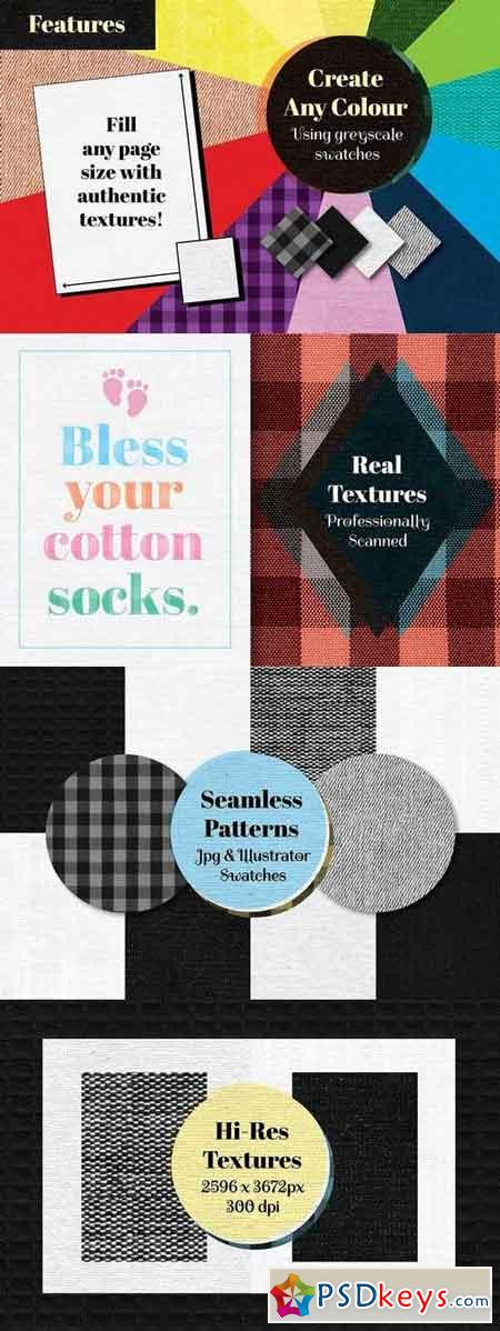 Quick Cotton Patterns and Textures 1798511
