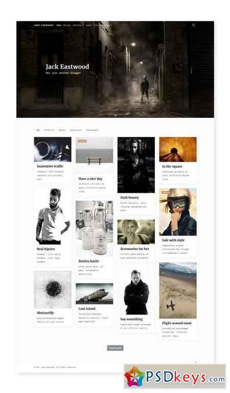 Outsider v1.0 - Wordpress Blog Theme 1781347