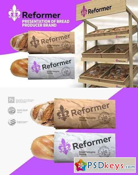 Bread package 2 Mock-Ups files 1787637