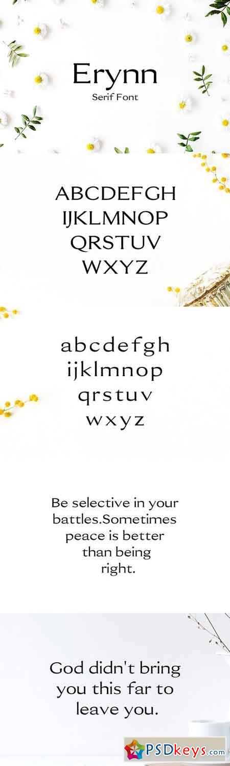 Erynn Serif Font 1787567