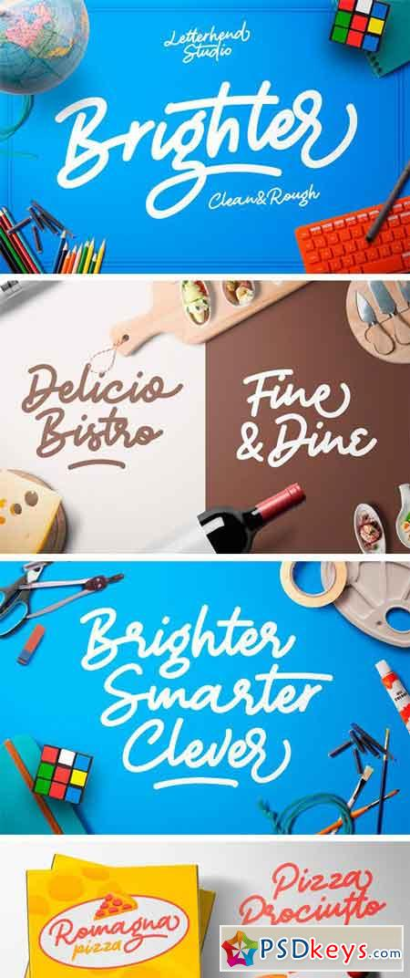 Brighter - a Bold Script 2181068