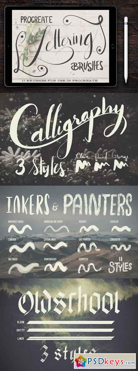 Procreate Lettering Brushes 1776562