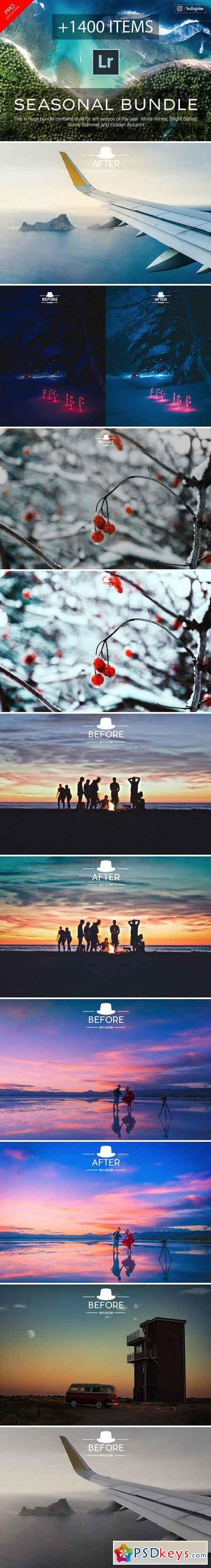 1400 Seasonal - Lightroom Presets 2138320