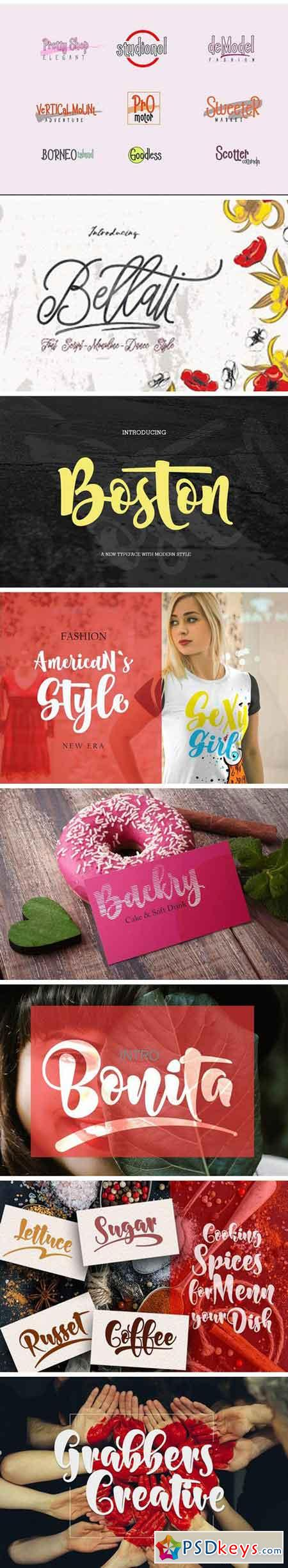 BUNDLE (Fonts Colection) 2175428