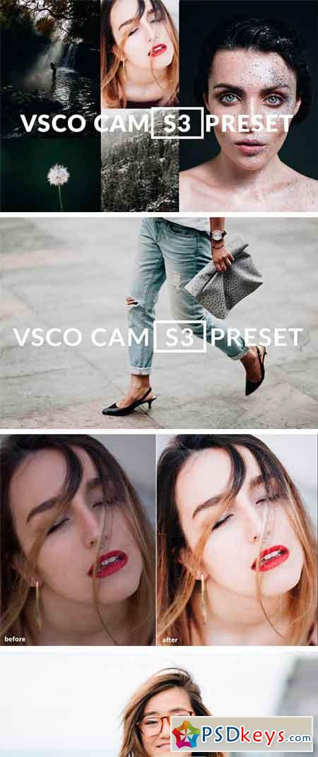 VSCO CAM S3 LIGHTROOM PRESET FILTER 2181813
