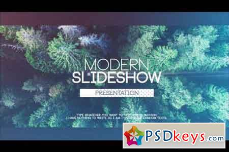 Modern Sldieshow 21684 - After Effects Projects