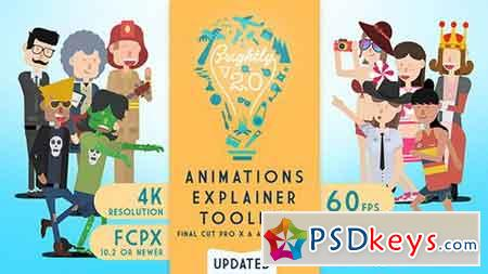Brightly Animations Explainer Toolkit - Final Cut Pro X