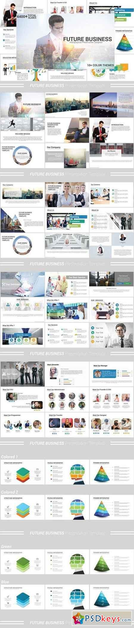 Future Business Powerpoint Template 1484500