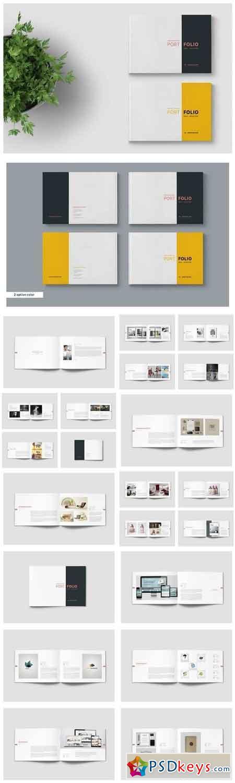 graphic designer portfolio template free download