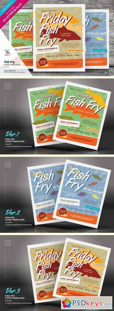 Fish Fry Flyer Templates 1486738