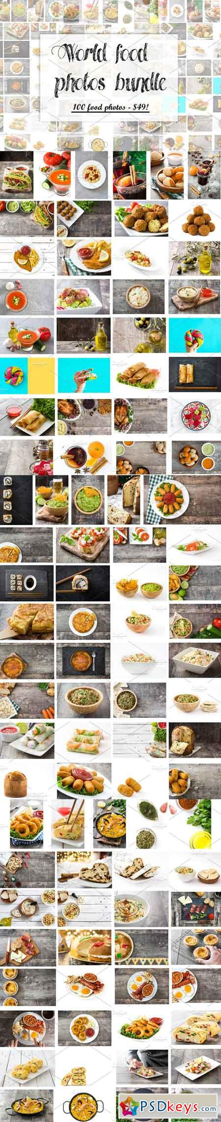 100 world food photos bundle 1486870