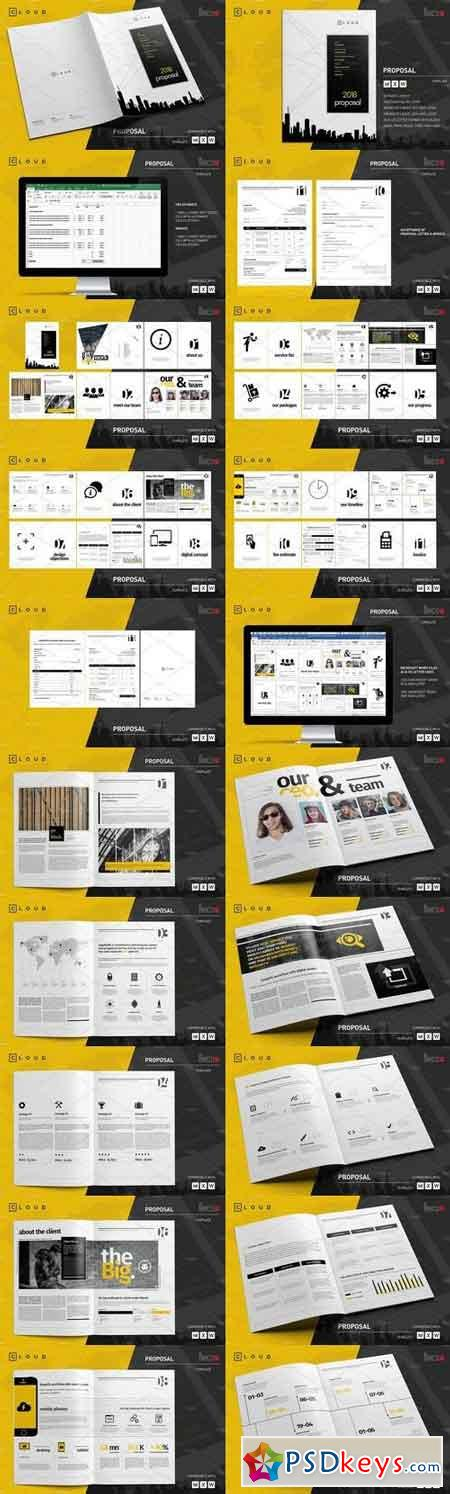 50 Page Full Proposal A4 US Letter 1427699