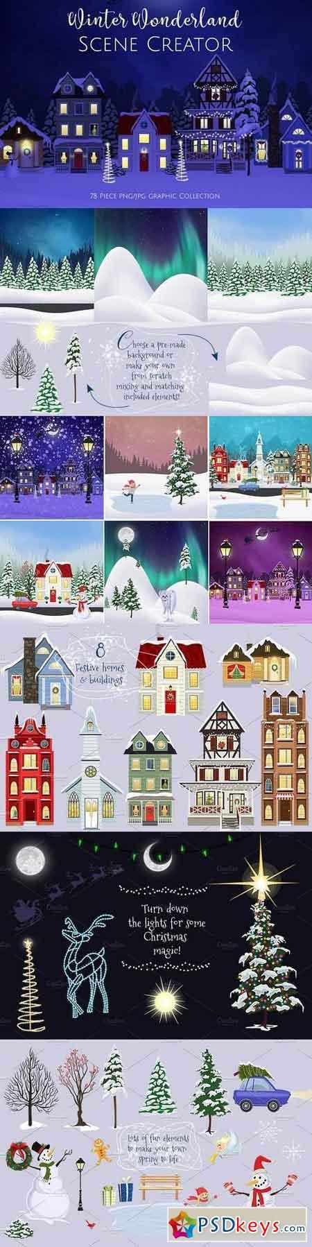 Winter Wonderland Scene Creator 1982768