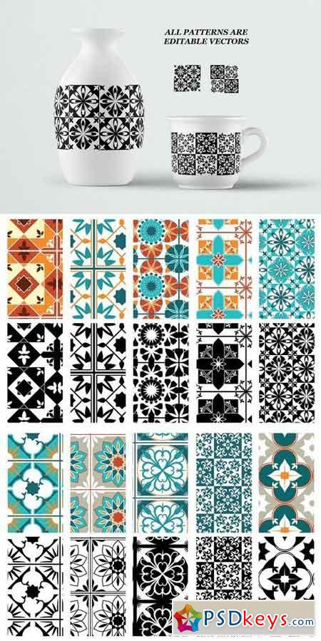 Moroccan style patterns 1810822