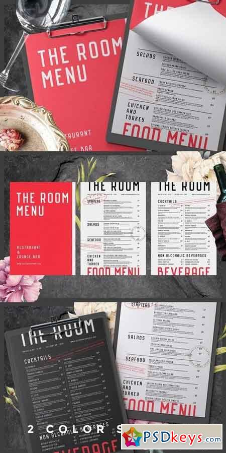 Food and Beverage Menu 1825286