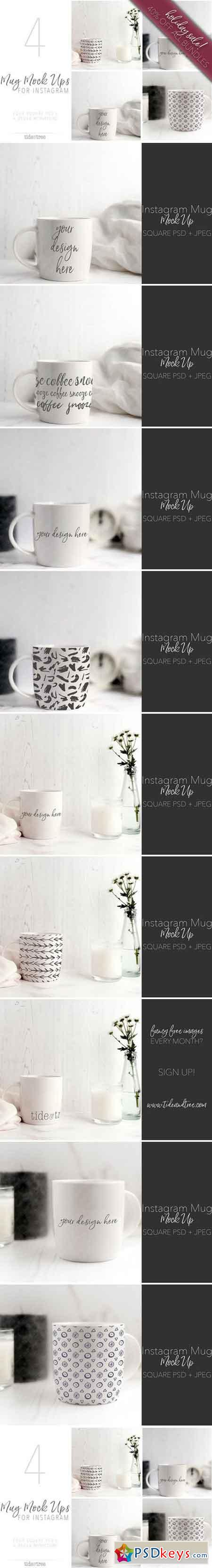 Mug Mock - Ups for Instagram 2113174
