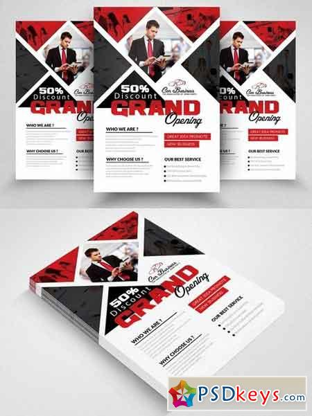 Grand Opening Flyer Template 1825821 Free Download Photoshop