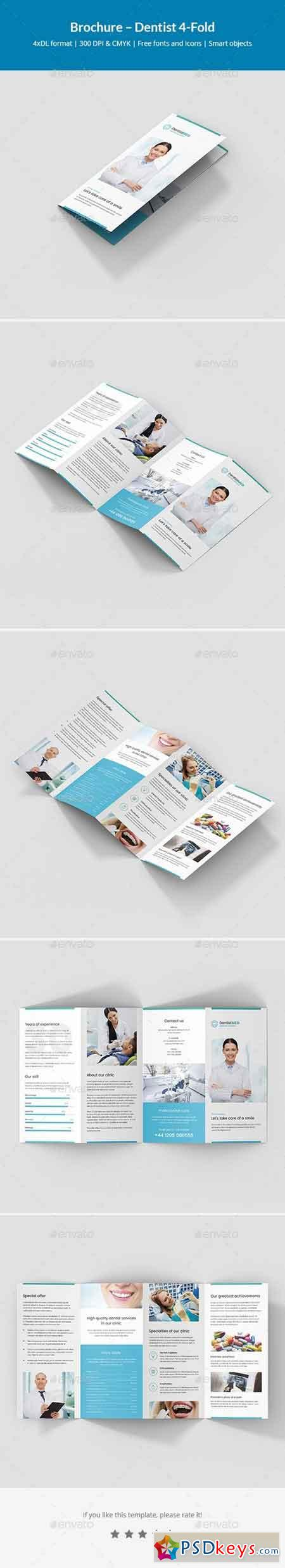Brochure – Dentist 4-Fold 21273427