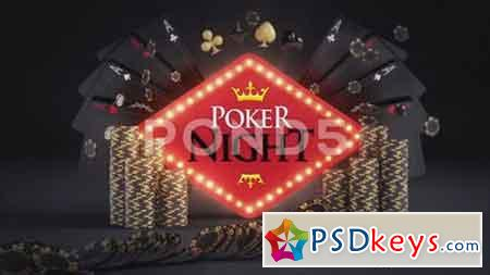 Online Gambling Poker Logo Reveals 81864504 - After Effects Projects