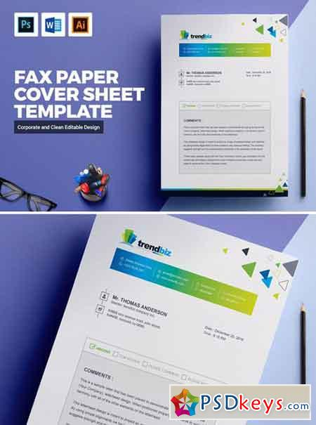 Fax Paper Cover Sheet Template 2142162