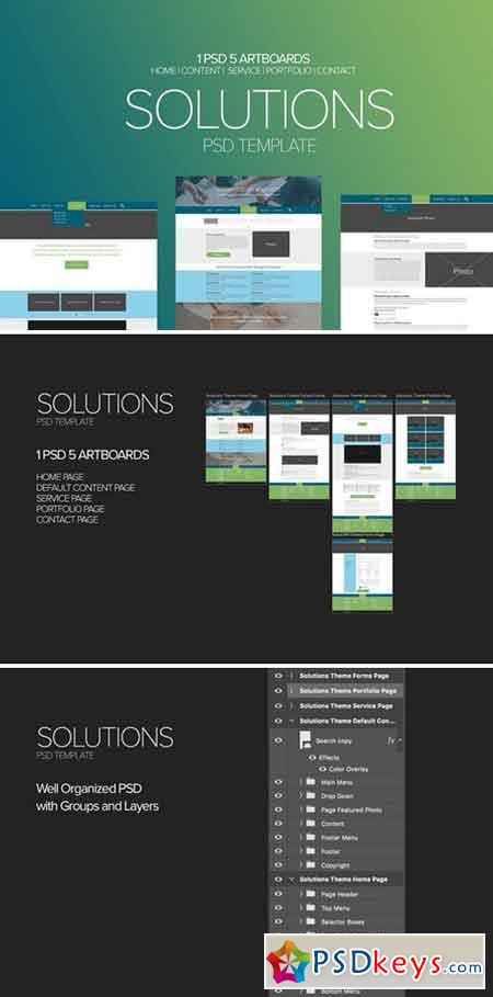 Solutions PSD Template 2122527
