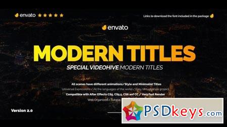 Modern Promo Titles Pack for FCPX 20587062 - After Effects
