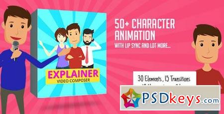 Character Animation Composer - Explainer Video Toolkit 17045232 - After Effects Projects