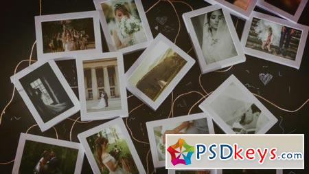 White Slideshow Wedding Frames 59469 - After Effects Projects