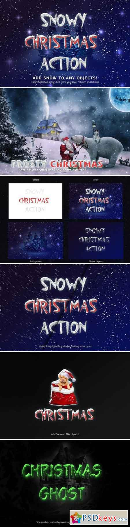 Snowy Christmas Action 2153889