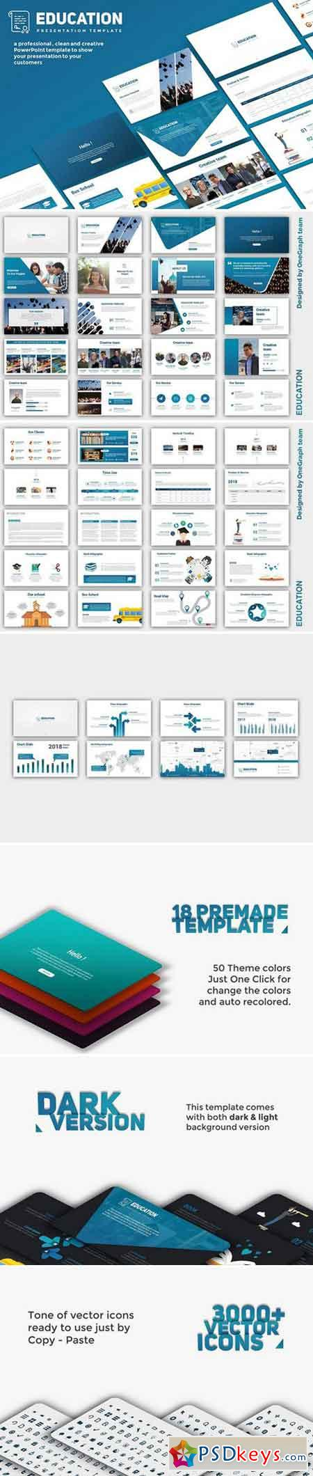 Education PowerPoint Template 2154651