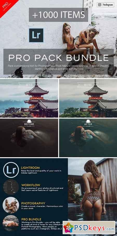 Photography Bundle Lightroom Presets 2138314