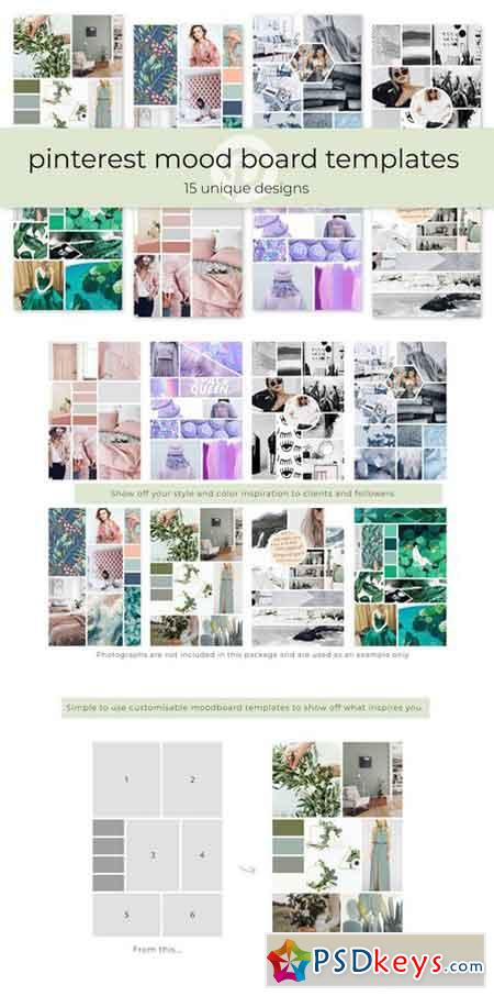 Pinterest Mood Board Templates 2166800