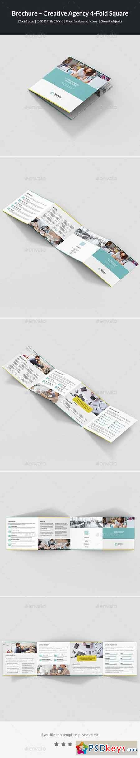 Brochure – Creative Agency 4-Fold Square 21317034