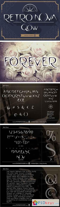 Retro Nova font 1913410