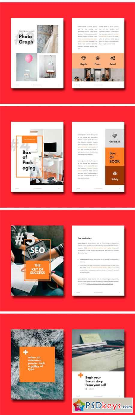 ebook tips - powerpoint template 2222862 » free download photoshop, Modern powerpoint