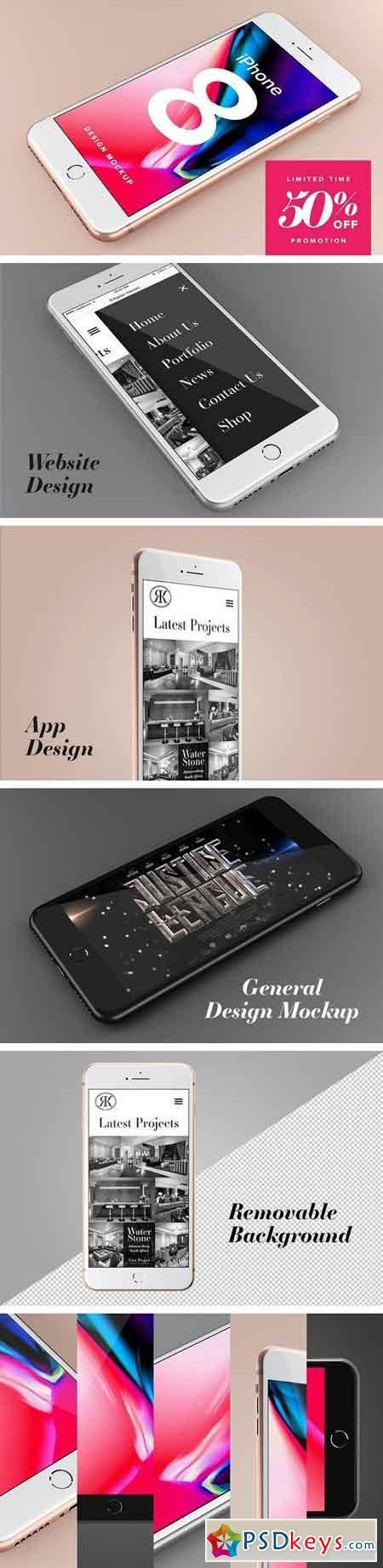 iPhone 8 Design Mockup 1928819