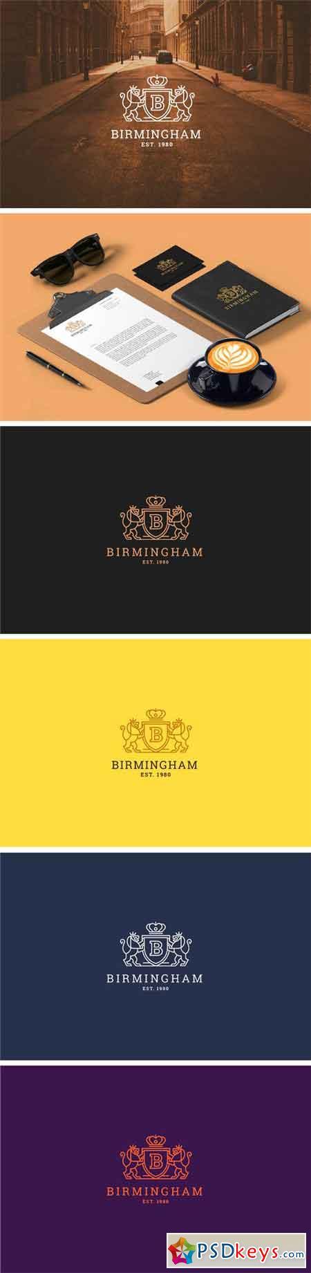 Letter B - Heraldry, Lion Logo 2221535