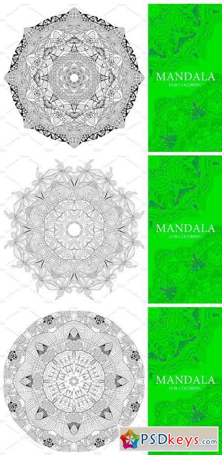 Unusual Mandalas for Coloring 4 2182657