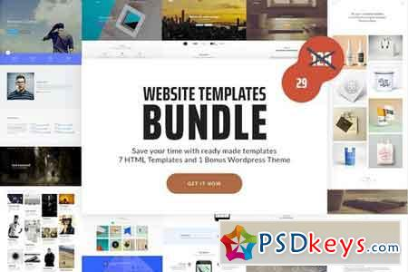 Website Templates Bundle 1901946