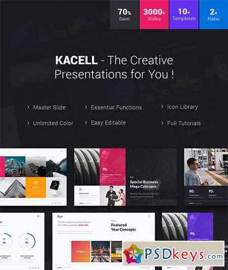 Kacell - Multipurpose & Business Template (Powerpoint) 21287536