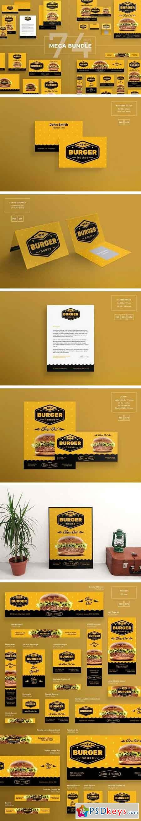 Mega Bundle Burger House 1963655
