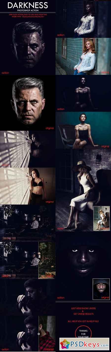 Darkness Photoshop Action 21289588
