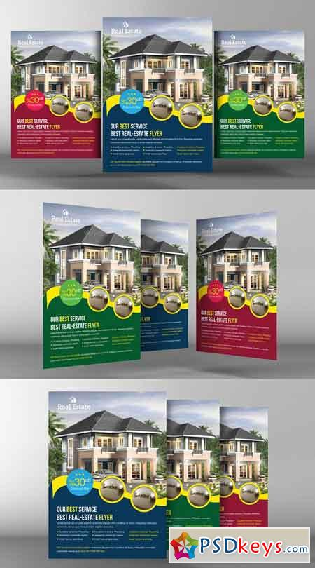 Real Estate Flyer Template 2246459