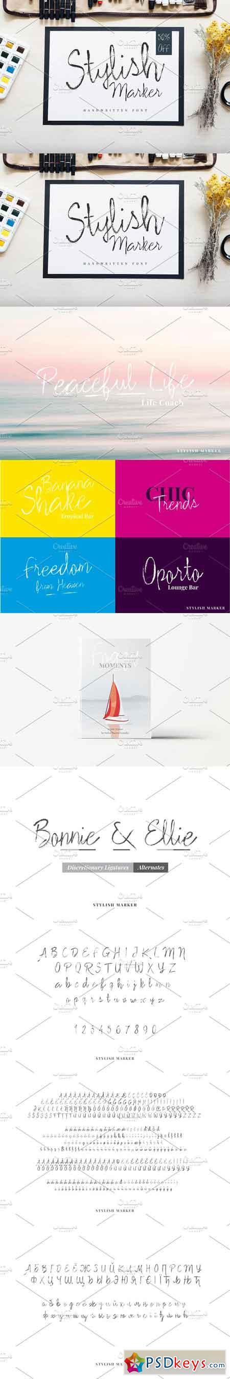 Stylish Marker Font 2248016