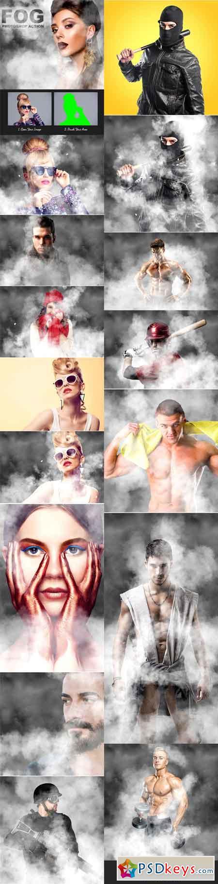 Fog Photoshop Action 21284636